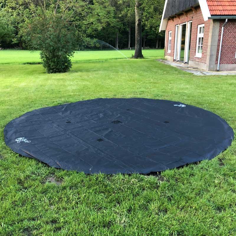 flat trampoline